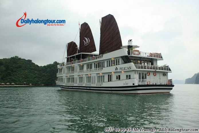 Introducing luxury Ha Noi Ha Long yacht tours that suitable for all weather: